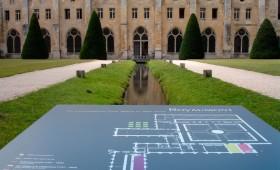 Abbaye de Royaumont – Signalétique